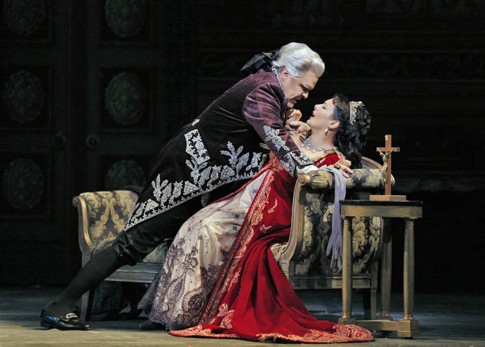 Ópera La Tosca de Puccini en Valencia 2018