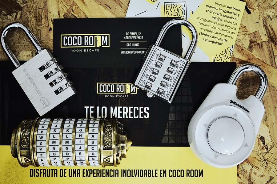 coco room valencia escape room