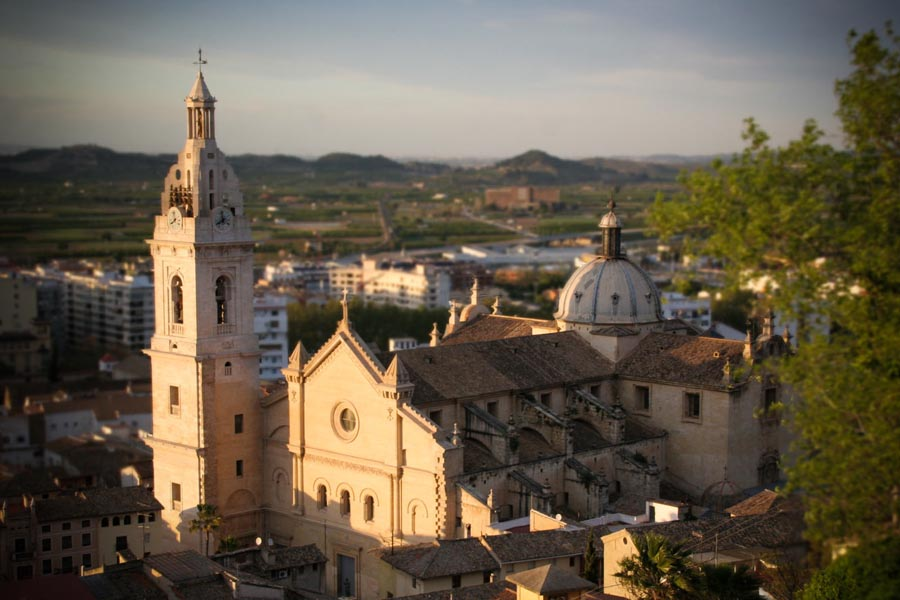 One-day trip to Xàtiva from Valencia during your holidays: Colegiata de Santa María