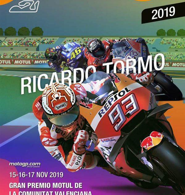 Gran Premio Motul Comunitat Valenciana en el Circuit Ricardo Tormo de Cheste (Valencia) 2019.