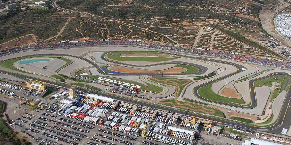 Gran Premio Motul de la Comunitat Valenciana en Cheste, información y alojamiento.