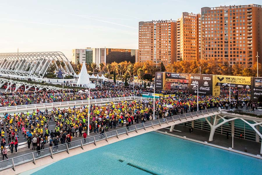 10k race in Valencia, together with the Valencia Marathon on the 1st December 2019.