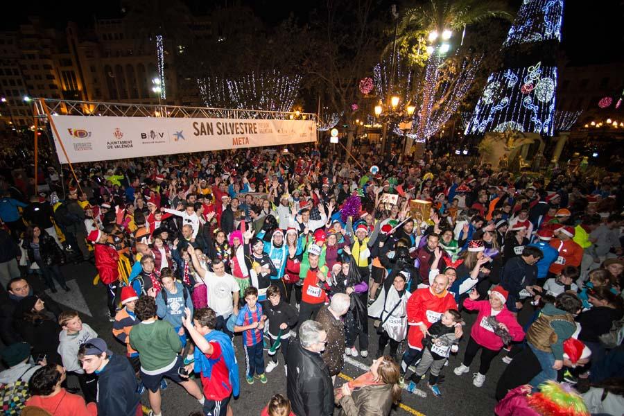 San Silvestre Valencia, carrera popular el 30 de diciembre en la ciudad.
