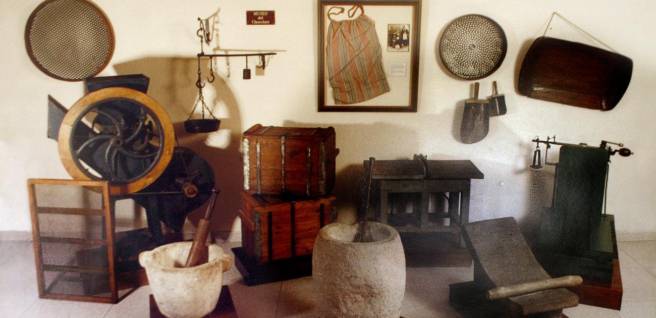 Fábrica - Museo Chocolates Clavileño, en Villajoyosa.