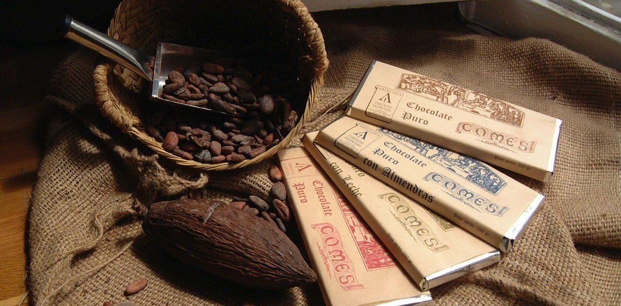 Fábrica - Museo Chocolates Comes, en Sueca (Valencia).